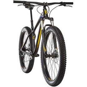 Kona Big Honzo Matt Black/Grey Yellow
